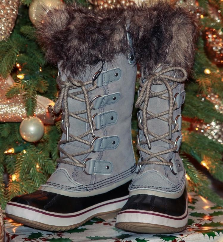 Sorel Joan of Arctic Boots - shade quarry/black