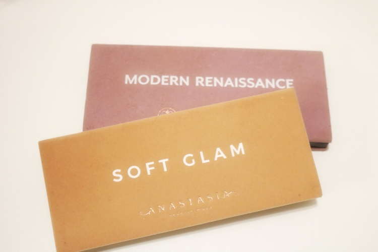 ABH Modern Renaissance and Soft Glam Palettes