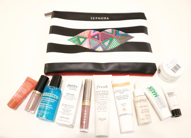 Sephora bag freebie