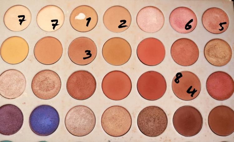 jaclyn hill palette vday makeup